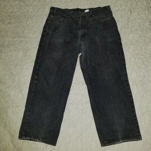 Levi's 500 relaxed fit jeans sz 38x34